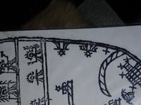 Знаки на саамском бубне